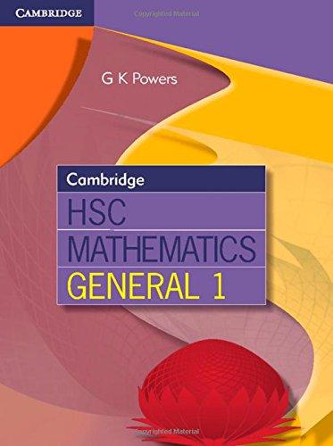 Cambridge Hsc Mathematics General 1