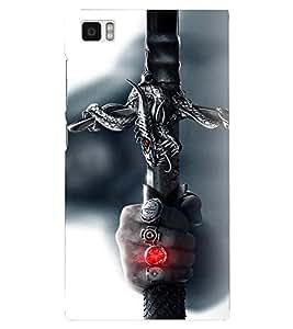 PRINTSHOPPII SWORD GAME Back Case Cover for Xiaomi Redmi Mi3::Xiaomi Mi 3