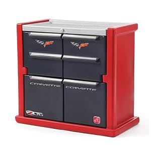 Step2 Corvette Dresser - Red/Black/Silver by Step2