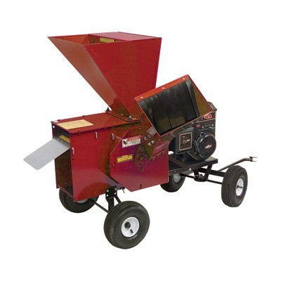 Merry-Mac-Tow-Behind-ChipperShredder-249cc-Briggs-Stratton-Powerbuilt-OHV-Engine-3-12in-Capacity-Model-12PT1100M