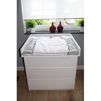 con spigoli arrotondati fasciatoio adatto a tutte le cassettiere ikea malm bianco. Black Bedroom Furniture Sets. Home Design Ideas