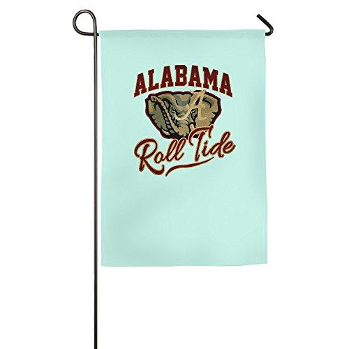 University Of Alabama UA Alabama Crimson Tide Logo Garden Flag