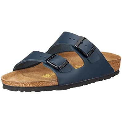 Birkenstock Arizona 51151, Chaussures mixte adulte - Bleu-V.1, 35 (normal) EU