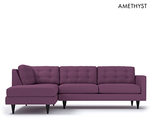 The Logan 2pc Sectional Sofa LAF Amethyst