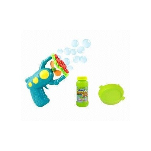 Discover Bargain Bubbles Machine Gun or Stick Kids Toy Assortment Battery Operated Included Outdoor ...