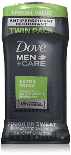 Dove Men + Care 48h Non-Irritant AntiPerspirant Deodorant, Extra Fresh Scent, 2.7oz, Men's Six Pack