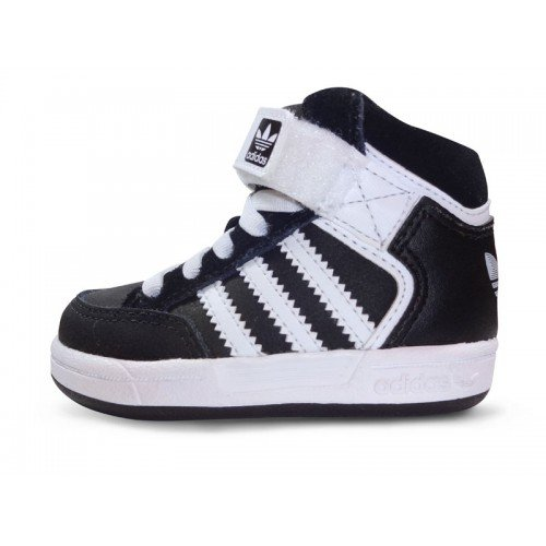 Adidas - SCARPE STIVALETTO ADIDAS VARIAL MID I NERO E BIANCO C75658 - 214670 - 21