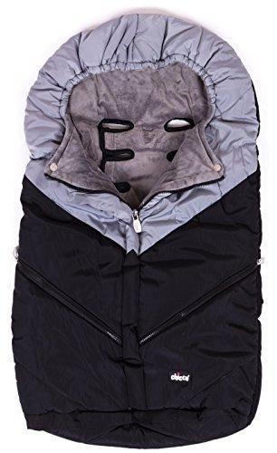 chicco-universal-baby-stroller-sleeping-bag-footmuff-black