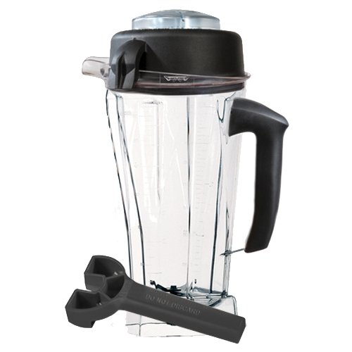 Vitamix Eastman Tritan Copolyester 64-Ounce Container with Soft Grip Handle, Lid and Wrench