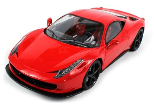 Save Price Ferrari 458 Italia Electric RC Car SV LTD. Collection 1:14 RTR (Colors May Vary)  Review