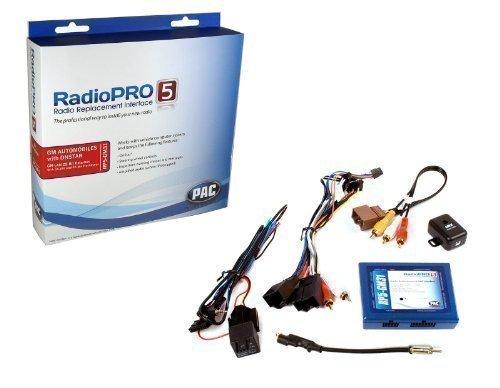 CAN-BUS adaptateur Set 5e PC GM31 (OS-4 + SWI-RC) pour GMC, Chevrolet, Cadillac, sans navigation OEM