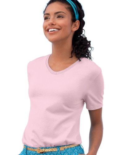 Hanes Women's Comfort Soft V-Neck T-Shirt
