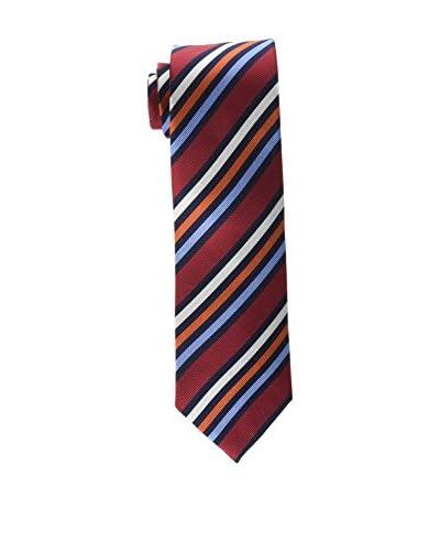 CORTEFIEL Cravatta Seta Stripes Multi [Blu Navy]
