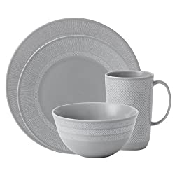 Wedgwood Vera Wang Simplicity Gray 4-Piece Place Setting