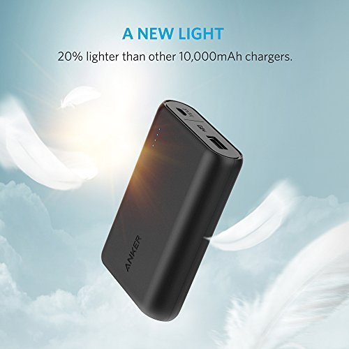 Anker-PowerCore-10000-Portable-Charger-One-of-the-Smallest-and-Lightest-10000mAh-External-Battery-10000mAh-Ultra-Compact-Fast-Charging-Technology-Power-Bank-for-iPhone-Samsung-Galaxy-and-More