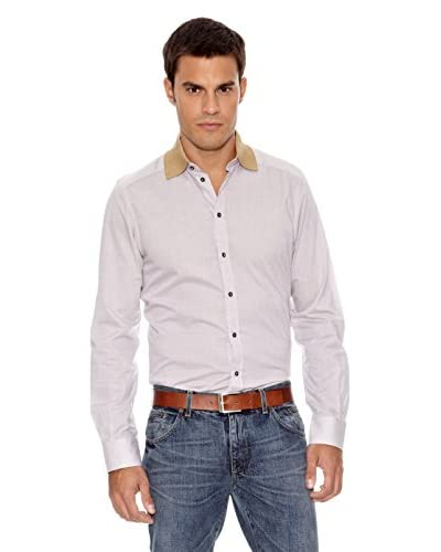 Dolce&Gabbana Camisa Hombre Sholto Gris