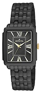 Invicta 14585 Womens Ceramic Rectangualr Quartz Bracelet Watch