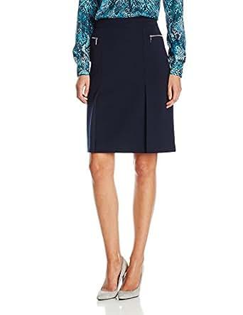 jones new york s zipper pocket a line skirt navy