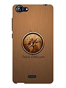 TREECASE Designer Printed Soft Silicone Back Case Cover For Micromax Bolt Q338