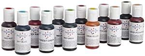 AmeriColor Color Kit Soft Gel Paste Food Color, #1, 12 Pack