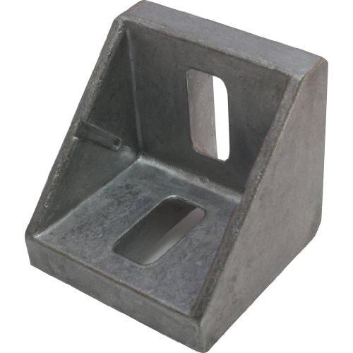 Winkel, Aluwinkel, 45 42x42x42 mm M8 Nut 10 Alu