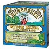 Witch Hazel Cleansing Pads 60 Wipes ( 4 Pack)