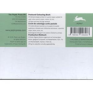 William Morris: Postcard Colouring Book / Postkarten - Malbuch (Postcard Colouring Books)