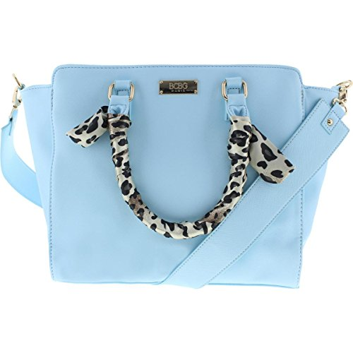 bcbg-paris-womens-faux-leather-animal-print-satchel-handbag-blue-medium