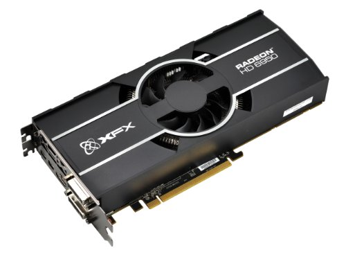 XFX ATI Radeon HD6950 Graphics Card PCI-e 1 GB GDDR5 Memory 2x DVI HDMI 2x Display Port