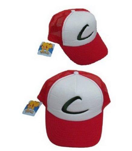 Pokemon Ash Mesh Cap Adult hat League Expo