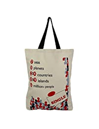 Cotton Canvas Multipurpose Shopping Bag - B015H6E5NE