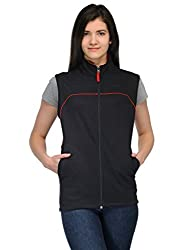 Scott Sleeveless Jacket Women's withzip BlackFBA ljslv2xl