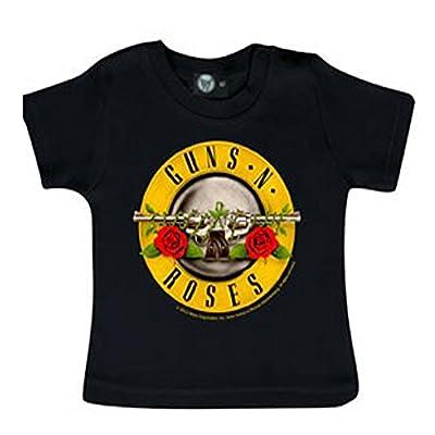Littlerockstore Unisex Baby Guns 'N Roses T-shirt Bullet