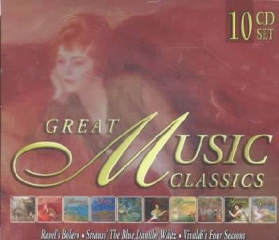 Great Music Classics by Ludwig van Beethoven, Antonio Vivaldi, Felix [1] Mendelssohn, Robert Schumann and Edvard Grieg