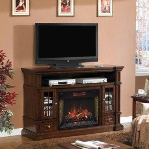 Amazon Com Belmont 60 Inch Electric Fireplace Media