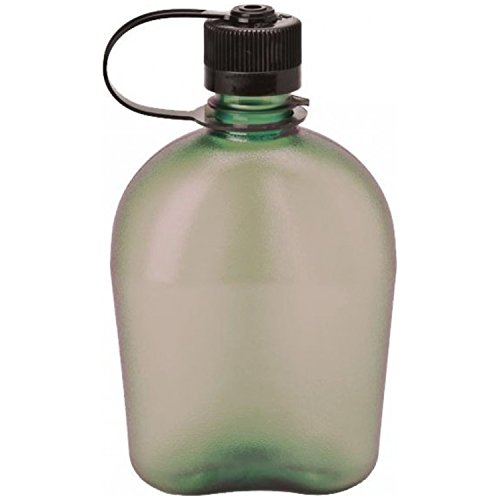Nalgene Oasis 1qt Canteen Bottle - 3 Pack (Foliage) (Nalgene Oasis Canteen compare prices)