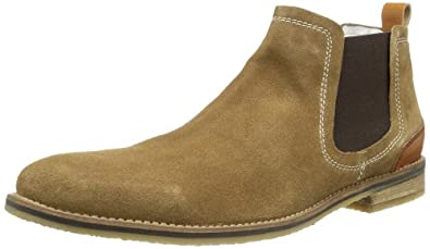 mustang herren booty chelsea boots men shoes bags. Black Bedroom Furniture Sets. Home Design Ideas