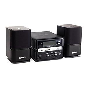 Duronic RCD111/BK Micro Hi-Fi Bluetooth Audio System with CD/MP3 CD/USB/FM Radio/SD/AUX - Black