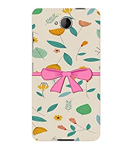 PrintVisa Stylish Cool Girl Bow 3D Hard Polycarbonate Designer Back Case Cover for Nokia Lumia 650