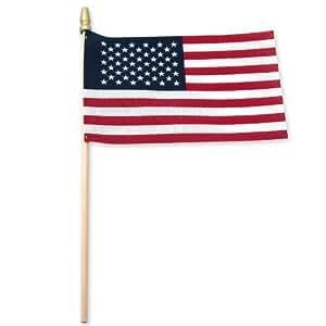 Amazon.com - 25-Pack Bandera EE.UU. palanca Standard con la lanza