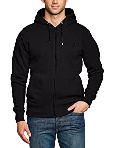 Nike Men's Jordan 23/7 Full-Zip Hooded Sweatshirt  - Black/Black, Small
