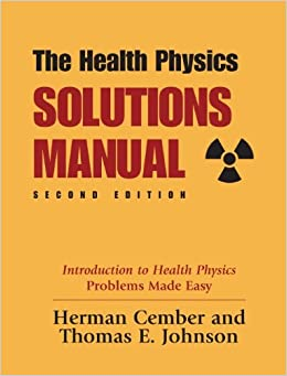 Introduction to health physics herman cember