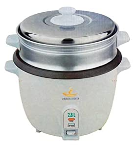 Black & Decker RC2800 2.8 Liter (15 Cup) Rice Cooker Non-Stick Stainless Steel Lid 220 Volt Not For Use in USA at Sears.com