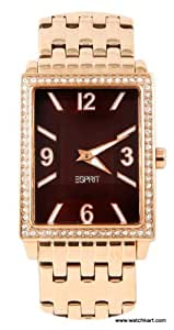 Esprit Damen-Armbanduhr Clarity Analog Quarz Edelstahl ES103992007