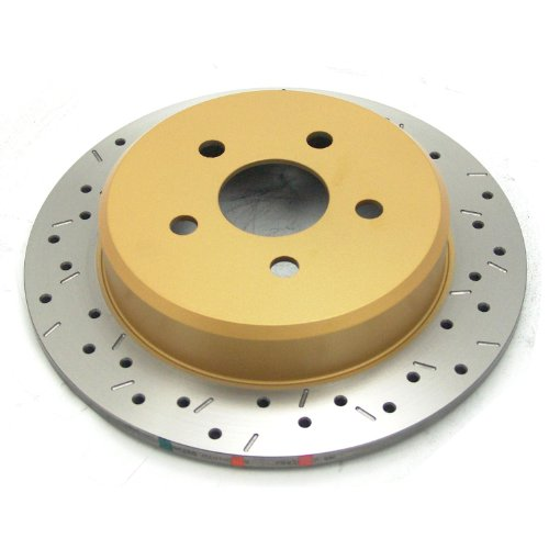 EBC Brakes GD7181 3GD Series Dimpled and Slotted Sport Rotor