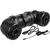 Boss Audio ATV25B Powersports Built-in Amplifier Speaker (Black)