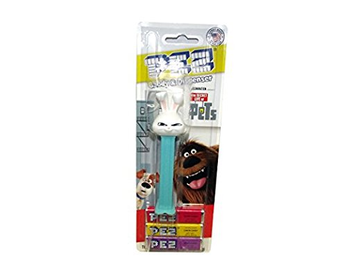 Pez Dispenser The Secret Life of Pets Snowball Rabbit Kids Toddlers Teens Candy (Kiss Pez Dispensers compare prices)