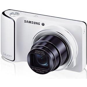 Samsung Galaxy Camera Appareil photo numérique compact 16,3 Mpix Zoom optique 21x Wifi Blanc