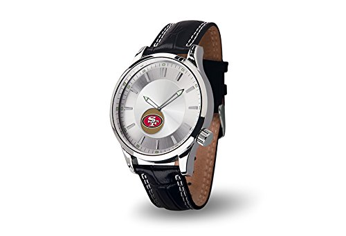 Nfl San Francisco 49Ers Icon Watch, Black