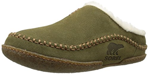 Sorel - Falcon Ridge, Pantofole da uomo, verde (olive brown, stout 334), 42
